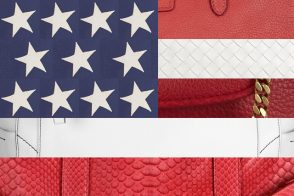 The best red, white, and blue handbags for the 4th of July