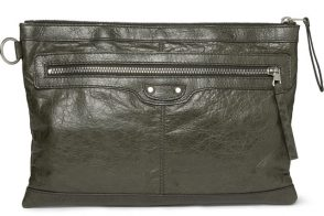 Man Bag Monday: The Balenciaga Creased Leather Pouch