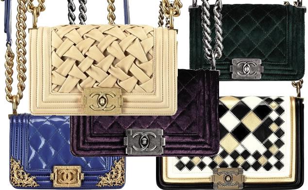 Boy Chanel Bags Photo