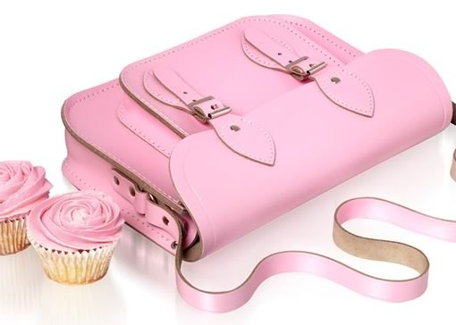 Cambridge Satchel Company Pastels Pink Cupcakes