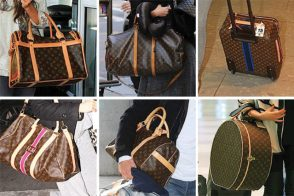 Don't Leave Home Without It: Celebrities and Their Louis Vuitton Luggage