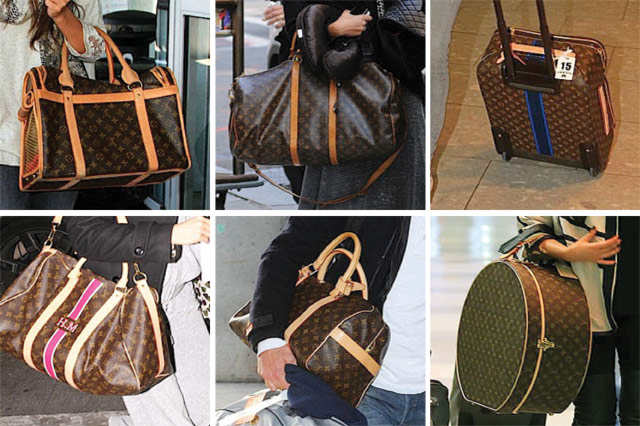 Celebs Love Louis Vuitton Luggage