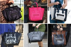 Celebrities and their Celine Luggage Totes: A Retrospective