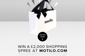 Win a £2,000 shopping spree from shopping site Motilo!