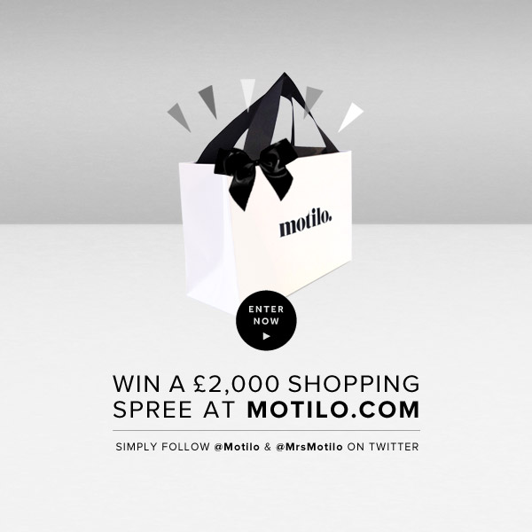 Motilo shopping spree giveaway