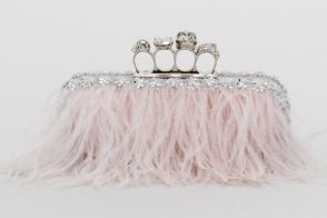 This Alexander McQueen clutch is worthy of a pretty pretty princess