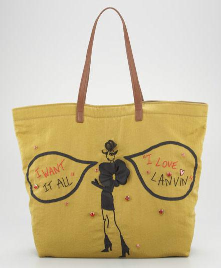 Lanvin Sketches Shopping Bag