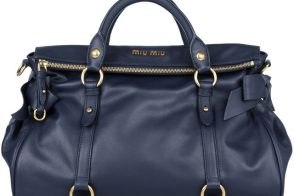 Load up with the Miu Miu Bow Bag