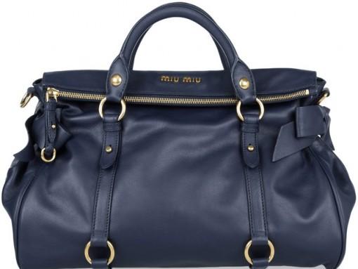 Miu Miu Leather Bow Bag