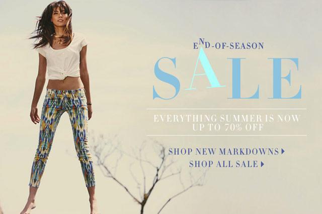 ShopBop End-of-Season Sale
