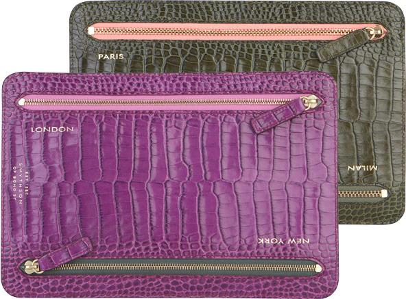 Smythson Fashion Week Currency Wallet