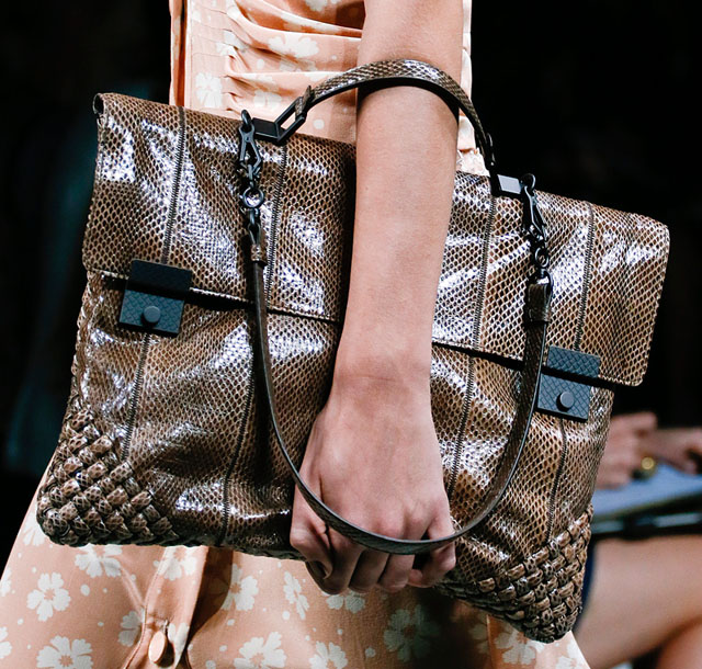 Borse Bottega Veneta 2013 : Fashion week handbags bottega veneta spring page