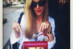 I love both Joanna Hillman and her Tom Ford Handbag