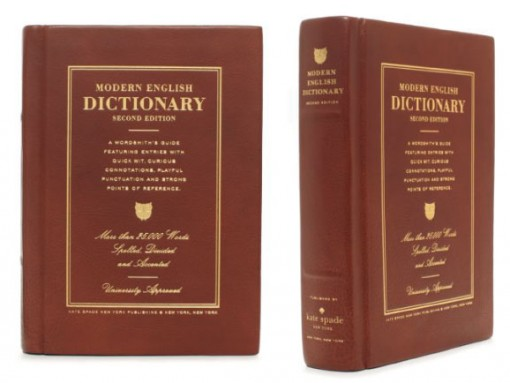 Kate Spade Dictionary Clutch