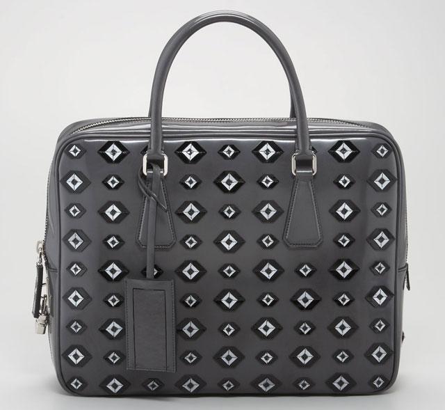 Prada Spazzolato Briefcase