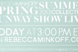 Rebecca Minkoff Fashion Show Invite