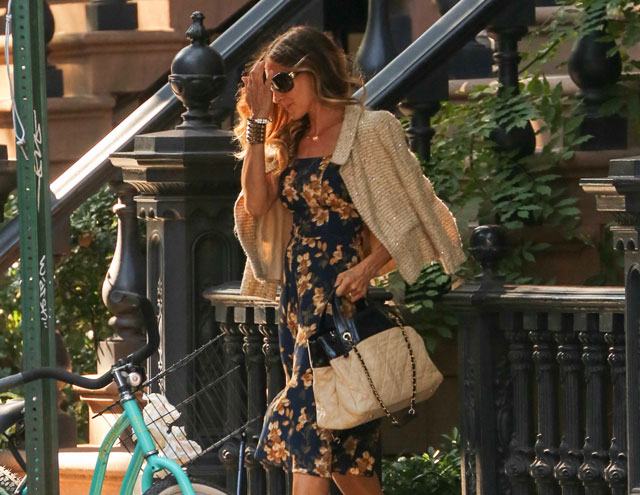 Sarah Jessica Parker carries Chanel