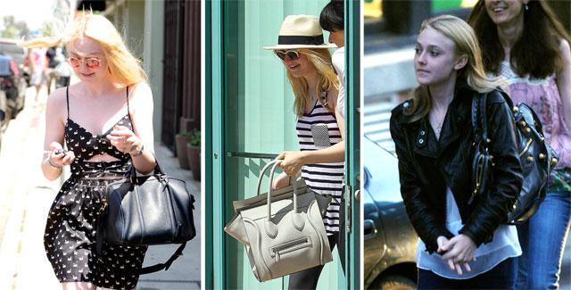The Many Bags of Dakota Fanning