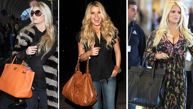 The Many Bags of Jessica Simpson