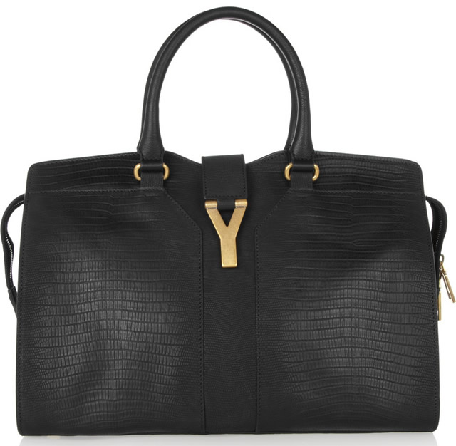 ysl cabas chyc medium black