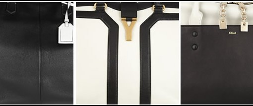 best black and white handbags