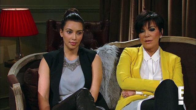 emotionless Kim and Kris