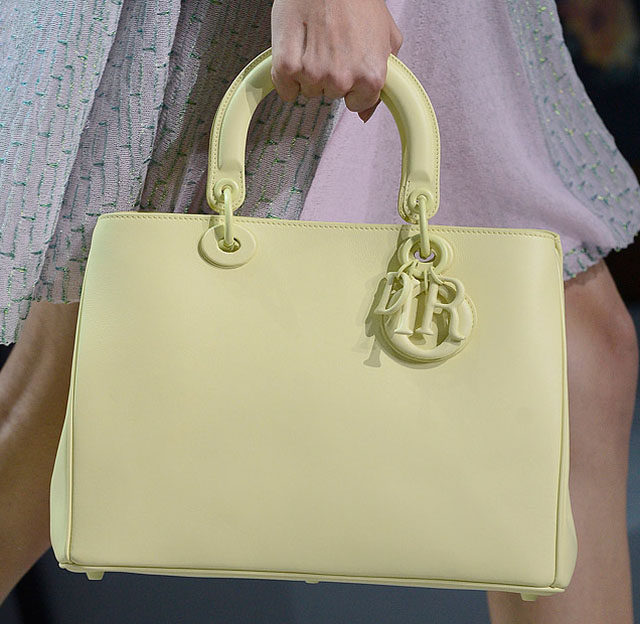 fashion week handbags christian dior spring 2012 purseblog