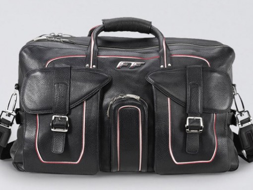 Ferrari Leather Duffel Bag