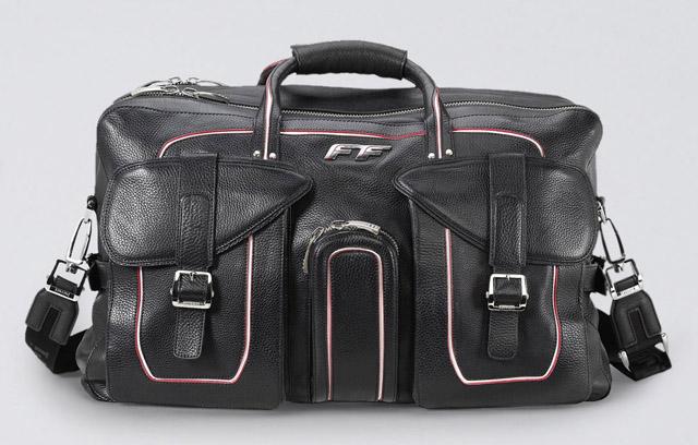 Ferrari Leather Duffel Bag