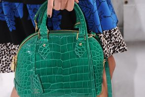 Get ready to drool over this Louis Vuitton Alligator Alma