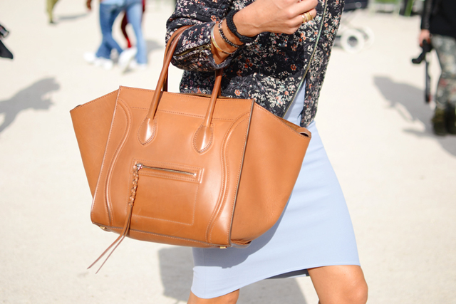 chloe purses - The Best Handbags of Paris Fashion Week Street Style - PurseBlog