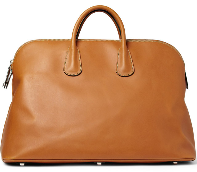Valextra Leather Holdall