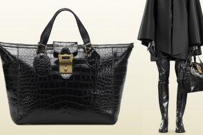 In my dream world, I'd use the Gucci Goldmark Crocodile Bag for travel