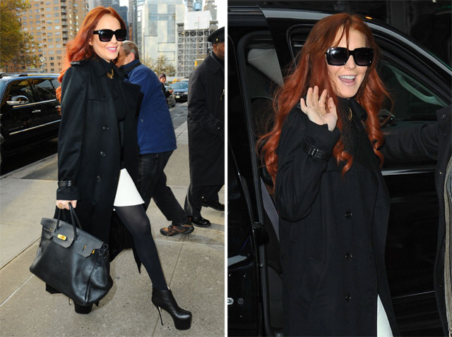 Lindsay Lohan Hermes Birkin