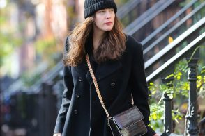 Liv Tyler double bags it with Stella McCartney and Givenchy