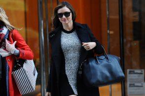Miranda Kerr looks incredibly chic toting Givenchy