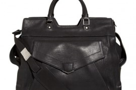 Proenza Schouler PS13 Black Leather