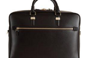 Man Bag Monday: Serapian Evolution Dual Compartment Briefcase