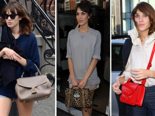 The Many Bags of Alexa Chung