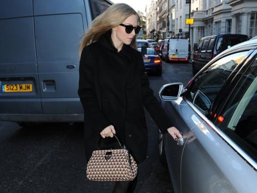Amanda Seyfried Seen Leaving Claridges Hotel