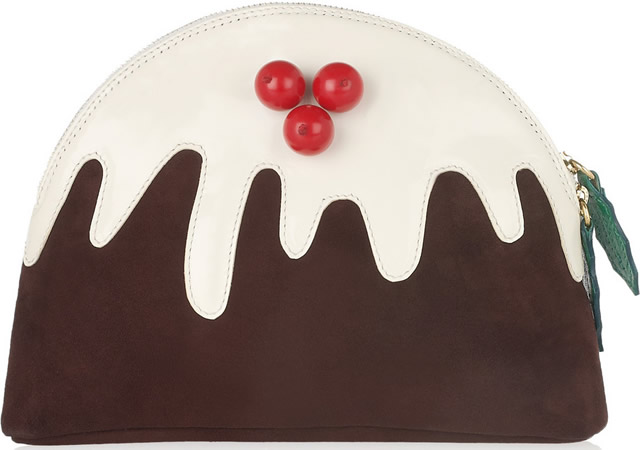 Charlotte Olympia Christmas Pudding Clutch