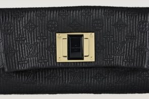 Behold the perfect clutch for holiday parties: the Louis Vuitton Altair