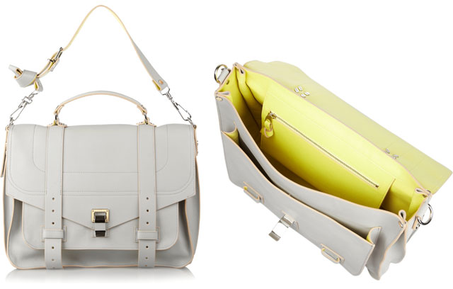 Proenza Schouler Leather-Lined PS1