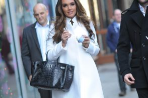 Tamara Ecclestone hits NYC with an extremely rare Hermes Birkin