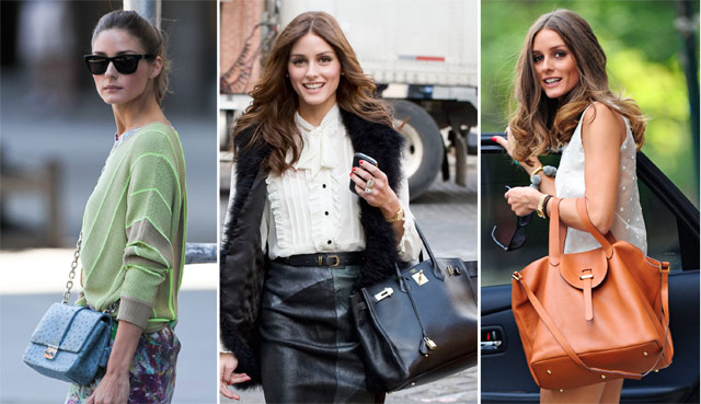 The Many Bags of Olivia Palermo