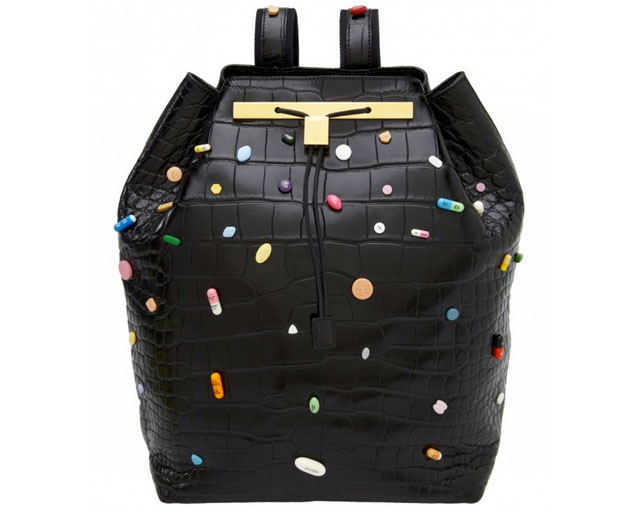 The Row x Damien Hirst Alligator Backpacks (3)