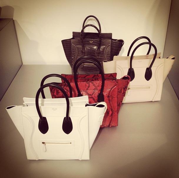 celine pouch - An Instagram Insider Peek at the Bags of Celine Pre-Fall 2013 ...