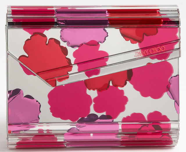 Jimmy Choo Candy Floral Clutch