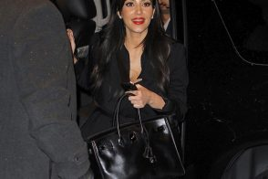 Kim Kardashian flaunts her rare Hermes Birkin in NYC