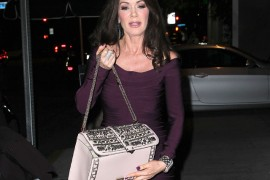 Lisa Vanderpump goes to a party in West Hollywood